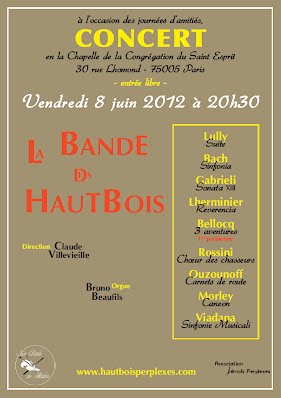 affiche concert BDH Rue Lhomond Paris