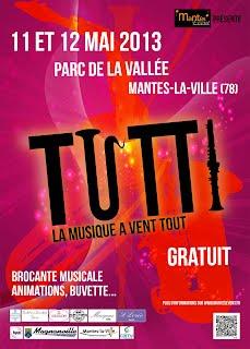 Affiche Festival TUTTI 2013