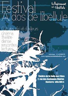 Affiche Festival A dos de Libellule