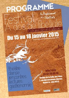 Affiche Festival Libellule 2015