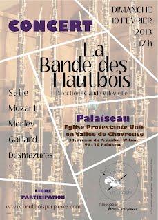 Affiche concert Palaiseau BDH