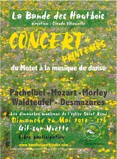 Affiche concert Gif