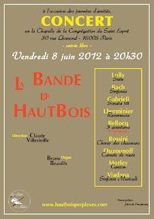 Affiche Concert BDH 20120608