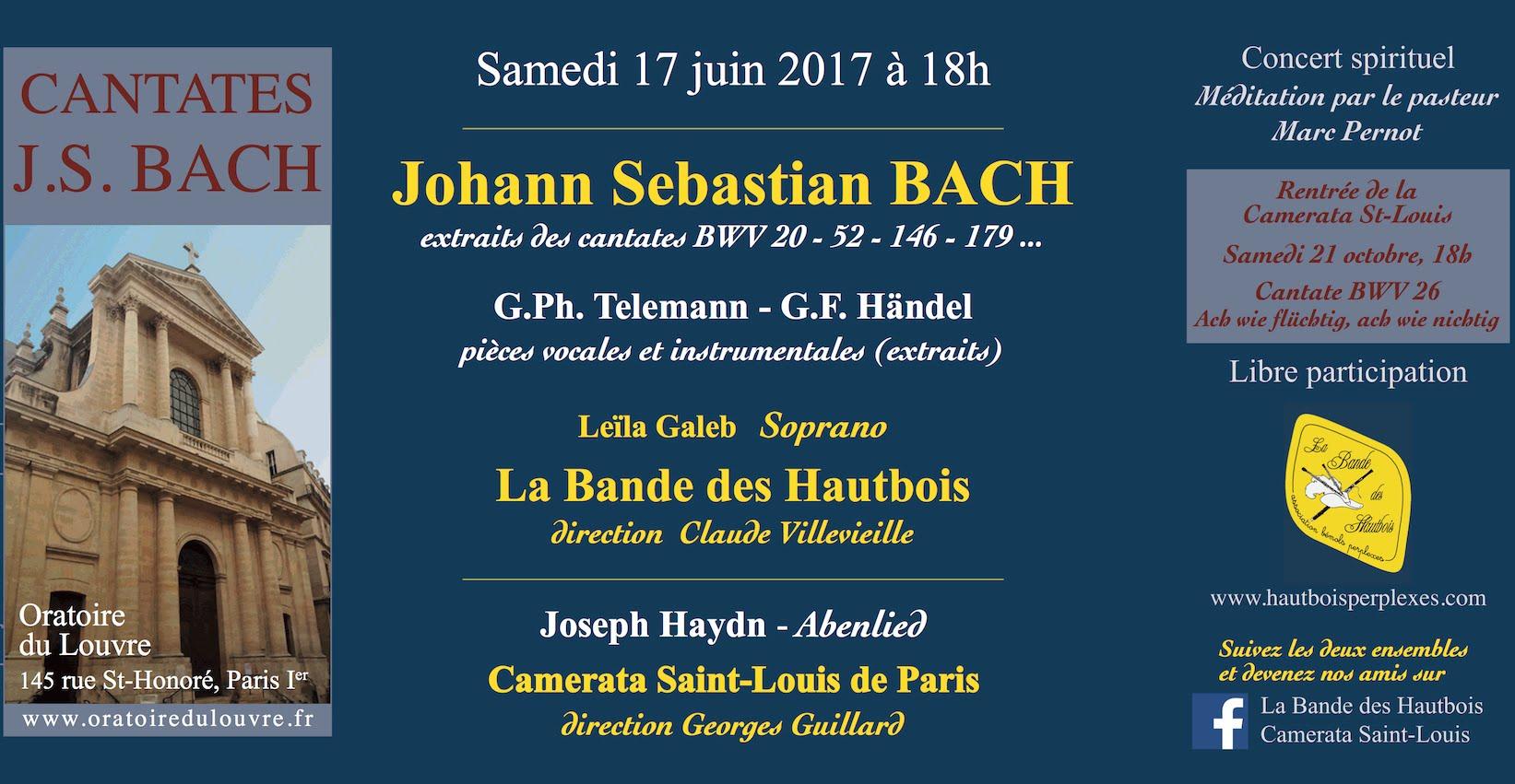 flyer Oratoire