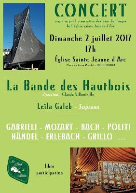 affiche concert Rouen