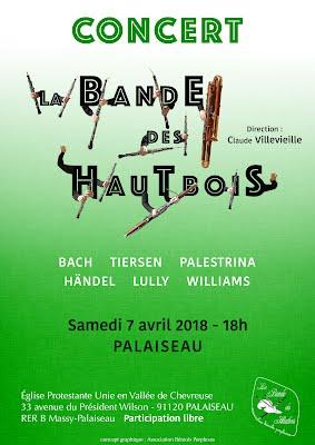 Affiche concert Palaiseau