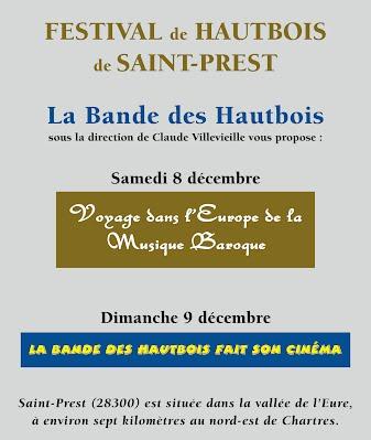 Affiche Festival Saint Prest