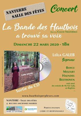 affiche concert Nanterre